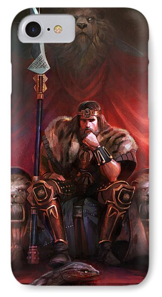 King By His Own Hand IPhone Case by Steve Goad