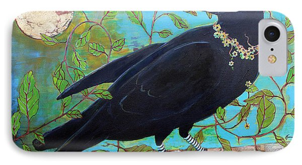 King Crow IPhone Case by Blenda Studio
