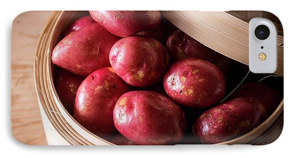 King Edward Potatoes IPhone Case by Aberration Films Ltd