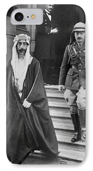 King Feisal Of Iraq IPhone Case by Underwood Archives