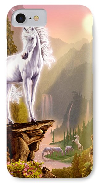 King Of The Valley IPhone Case by Garry Walton