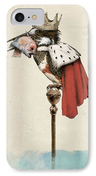 Kingfisher IPhone Case by Eric Fan