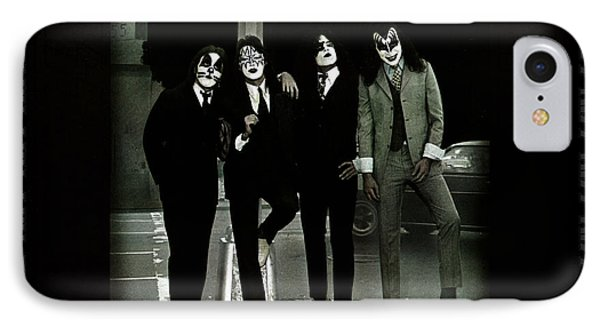 Kiss - Dressed To Kill IPhone Case by Epic Rights