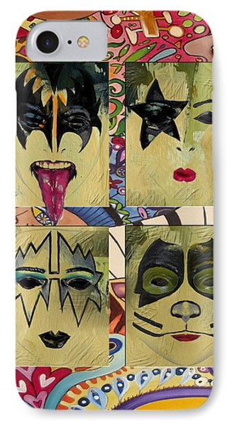 Kiss The Band IPhone Case by Corporate Art Task Force