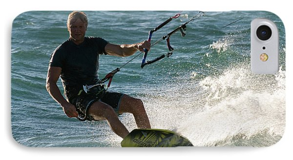 Kite Surfer 05 Phone Case by Rick Piper Photography
