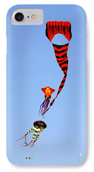 Kites Over Baja California IPhone Case by Christine Till