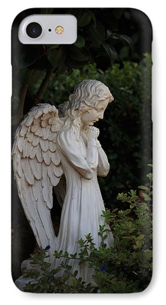 Kneeling Angel IPhone Case by Kathleen Scanlan
