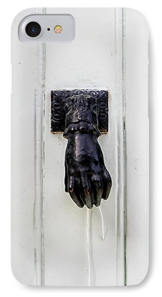 Knock Knock Phone Case by Georgia Fowler