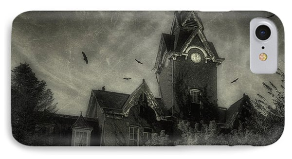 Knox County Poorhouse IPhone Case by Tom Mc Nemar