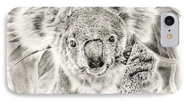 Koala Garage Girl IPhone 7 Case by Remrov