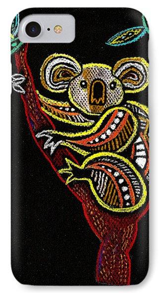 Koala IPhone 7 Case by Leon Zernitsky