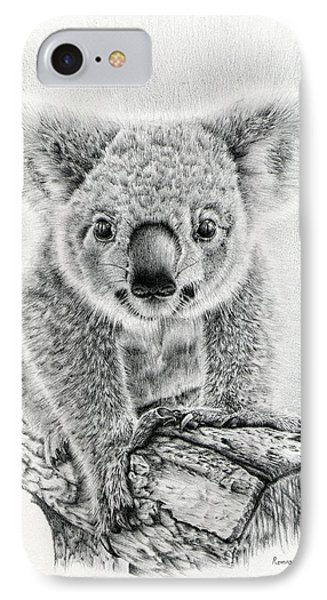 Koala Oxley Twinkles IPhone Case by Remrov