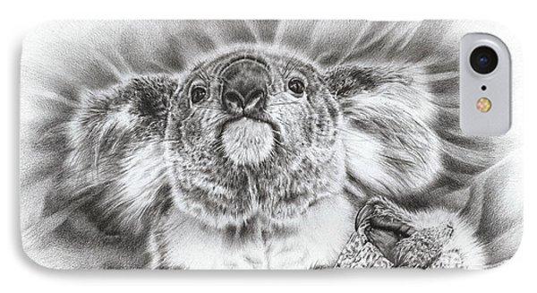 Koala Roto Princess IPhone Case by Remrov