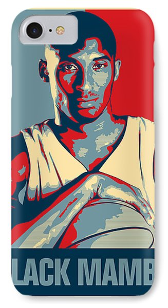 Kobe Bryant IPhone Case by Taylan Soyturk