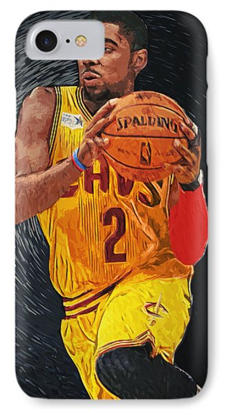 Kyrie Irving IPhone 7 Case by Taylan Soyturk