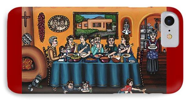 La Familia Or The Family Phone Case by Victoria De Almeida