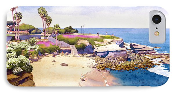 La Jolla Cove Phone Case by Mary Helmreich