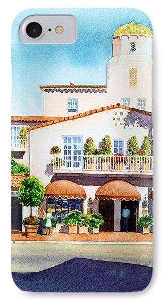 La Valencia Hotel Phone Case by Mary Helmreich