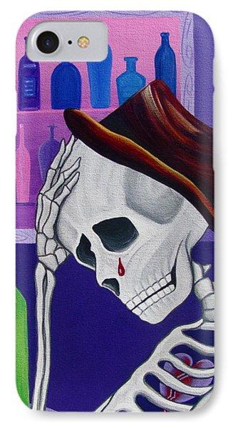 La Vida No Vale Nada Dos Phone Case by Evangelina Portillo