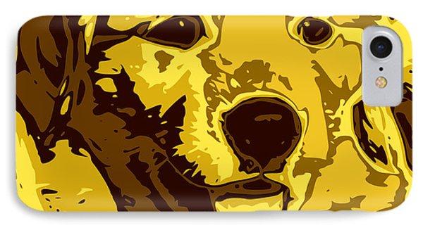 Labrador IPhone Case by Chris Butler