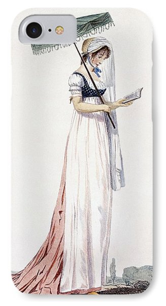 Ladies Elegant Summer Dress IPhone 7 Case by English School