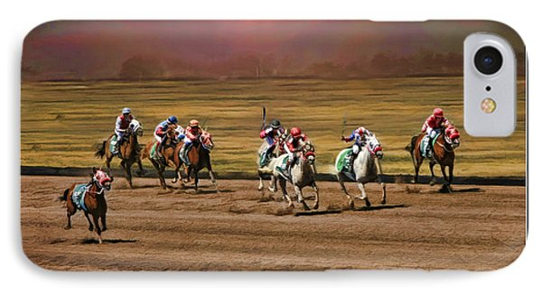 Ladies World Chapionship Ladies Cup Missing One Lady Phone Case by Blake Richards