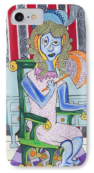 Lady Laura Phone Case by Daniel Burtea