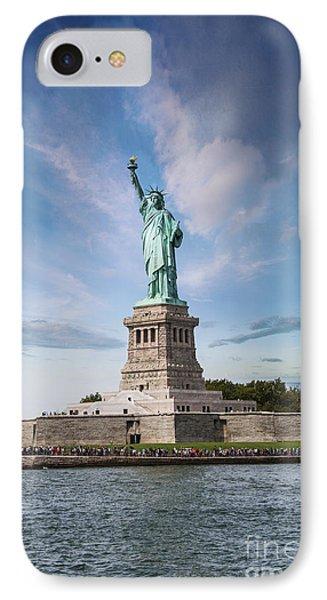 Lady Liberty IPhone Case by Juli Scalzi