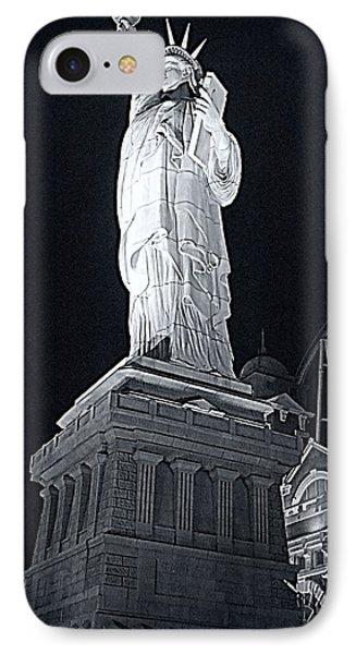 Lady Liberty Phone Case by Kay Novy