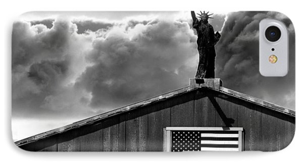 Lady Liberty IPhone Case by Ron White
