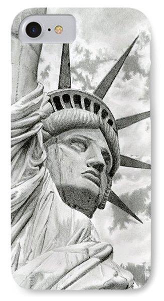 Lady Liberty  Phone Case by Sarah Batalka
