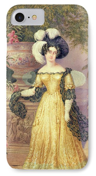 Lady Rowe IPhone Case by Isaac Mendes Belisario
