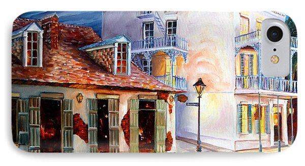 Lafitte's Guest House On Bourbon IPhone Case by Diane Millsap