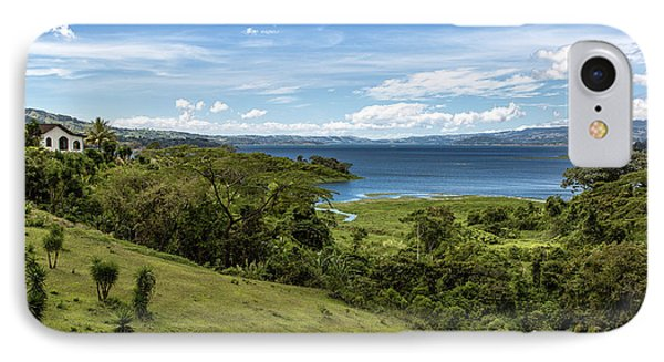 Lake Arenal View In Costa Rica IPhone Case by Andres Leon