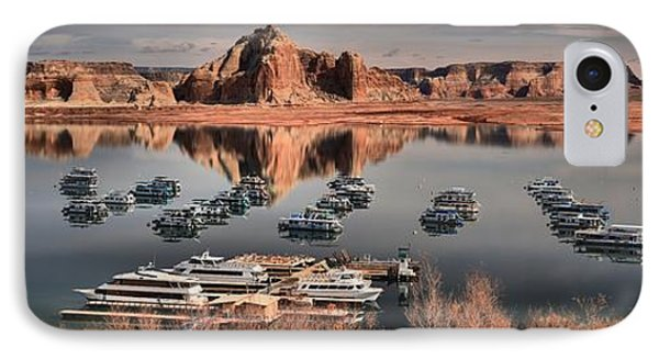 Lake Powell Panorama IPhone Case by Adam Jewell