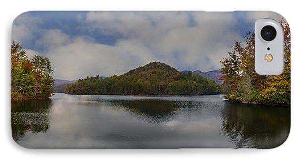 Lake Santeetlah IPhone Case by Debra and Dave Vanderlaan