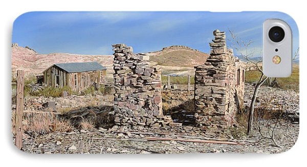 Lake Valley-new Mexico  IPhone Case by Guido Borelli
