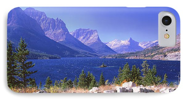 Lake With Mountain Range IPhone Case by Panoramic Images