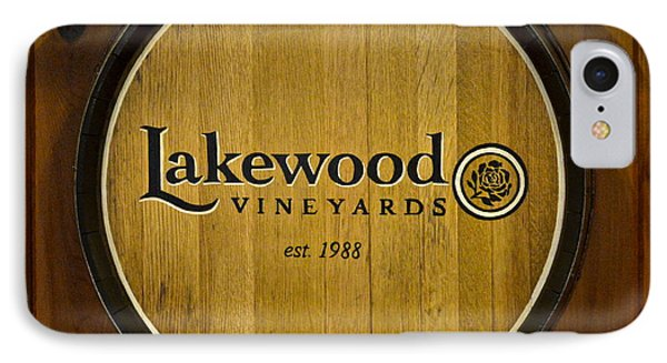 Lakewood Vineyards Phone Case by Frozen in Time Fine Art Photography