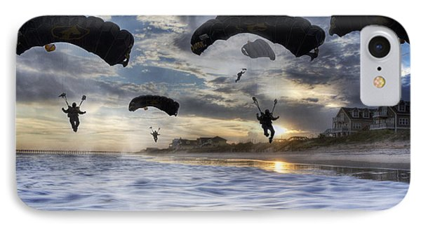 Landing At Sunset IPhone Case by Betsy Knapp
