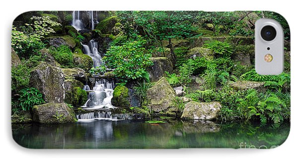 Landscape Waterfall IPhone Case by Marvin Blaine