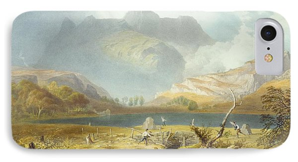 Langdale Pikes, From The English Lake Phone Case by James Baker Pyne