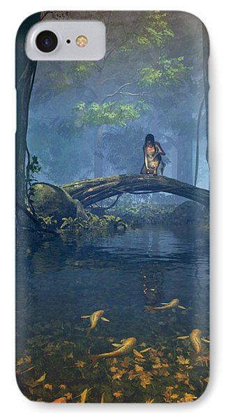 Lantern Bearer IPhone Case by Cynthia Decker