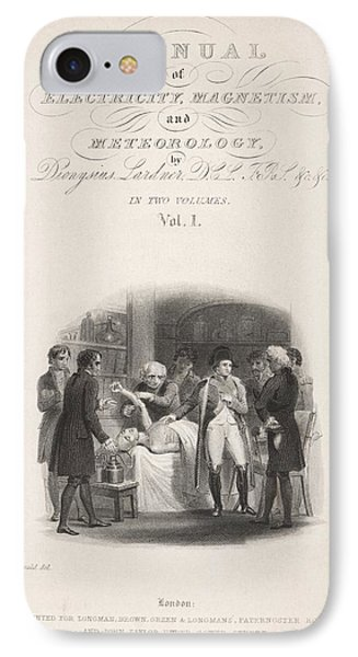 Lardner's Manual (1841) IPhone Case by King's College London