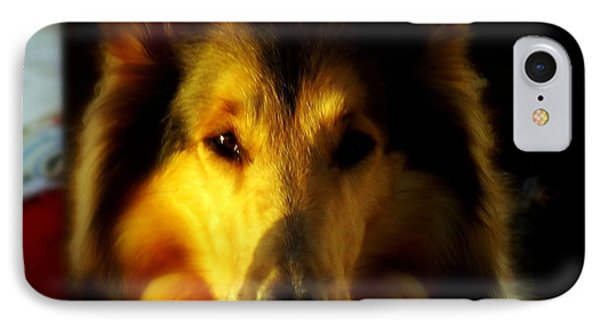 Lassie Come Home Phone Case by Karen Wiles