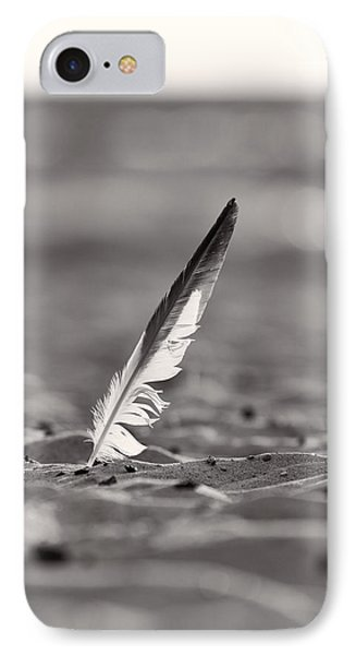 Last Days Of Summer In Black And White IPhone Case by Sebastian Musial