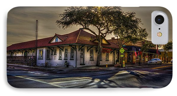 Last Stop Tarpon Springs IPhone Case by Marvin Spates