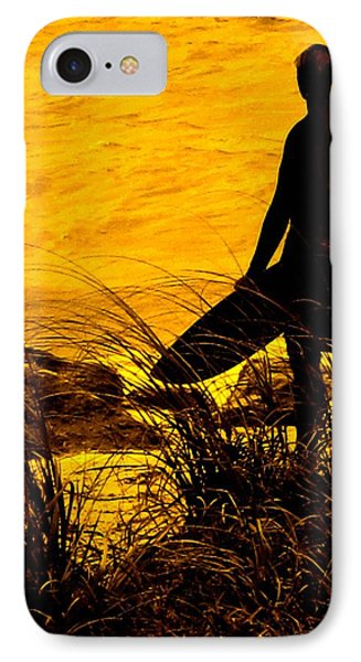 Last Surfer Standing Phone Case by Ian  MacDonald