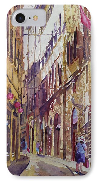 Late Afternoon In Florence Phone Case by Jenny Armitage