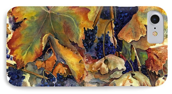 The Magic Of Autumn IPhone Case by Maria Hunt